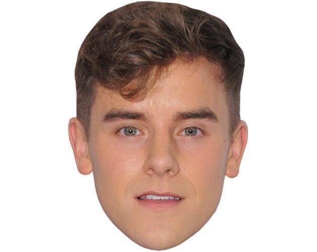 Connor Franta Celebrity Maske aus Karton