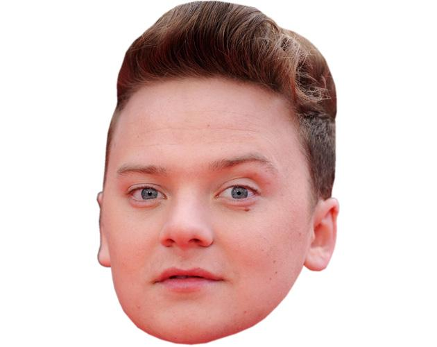 Conor Maynard Celebrity Maske aus Karton
