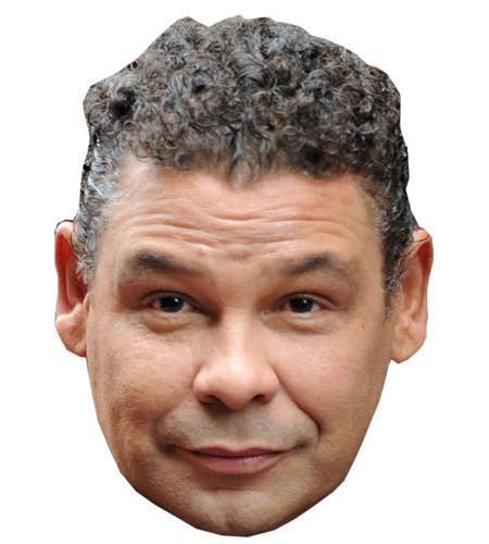 Craig Charles (Grey Hair) Maske aus Karton