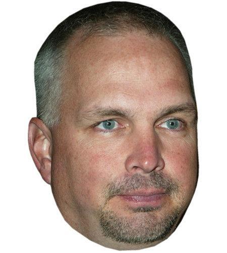 Garth Brooks Celebrity Maske aus Karton