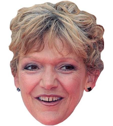 Gillian Wright Maske aus Karton