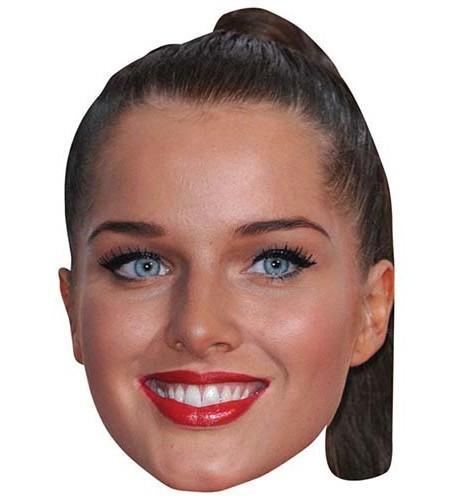 Helen Flanagan Maske aus Karton