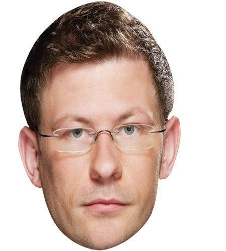 James Wade Celebrity Maske aus Karton