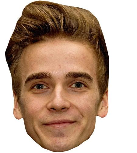 Joe Sugg Celebrity Maske aus Karton