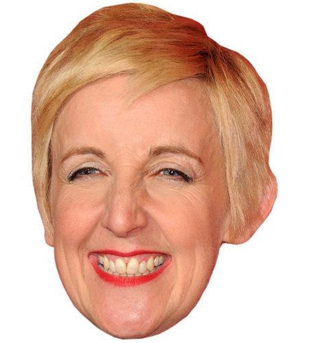 Julie Hesmondhalgh Celebrity Maske aus Karton