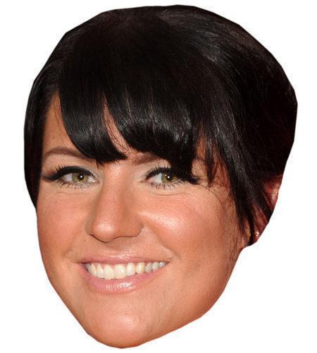 Laura Norton Celebrity Maske aus Karton