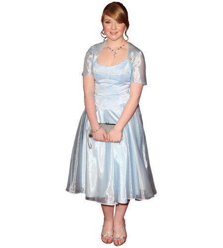 Lorna Fitzgerald (Blue) lebensgroßer Pappaufsteller