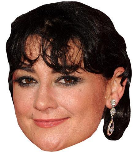 Natalie J Robb Celebrity Maske aus Karton