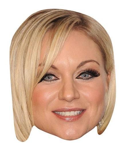 Rita Simons Maske aus Karton