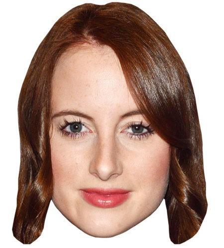 Rosie Fortescue Celebrity Maske aus Karton