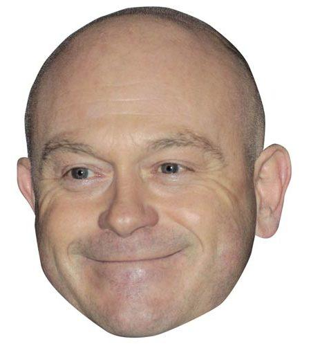 Ross Kemp Maske aus Karton