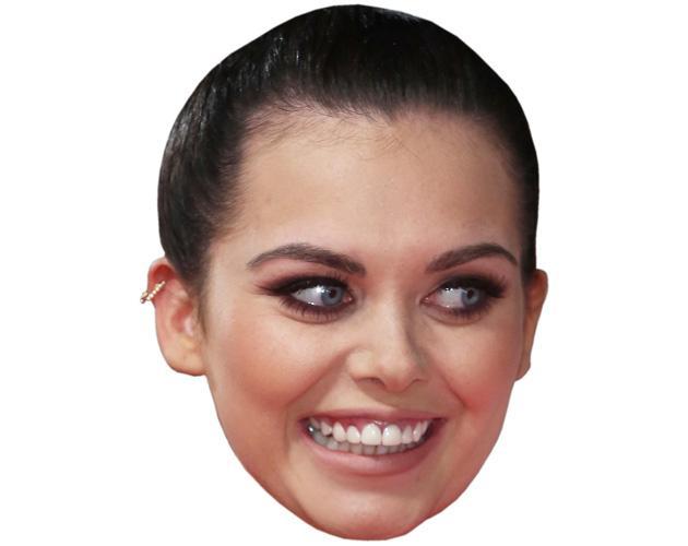 Scarlett Moffatt Celebrity Maske aus Karton