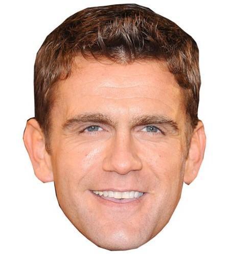 Scott Maslen Maske aus Karton