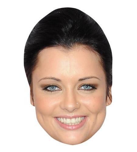 Shona McGarty Celebrity Maske aus Karton