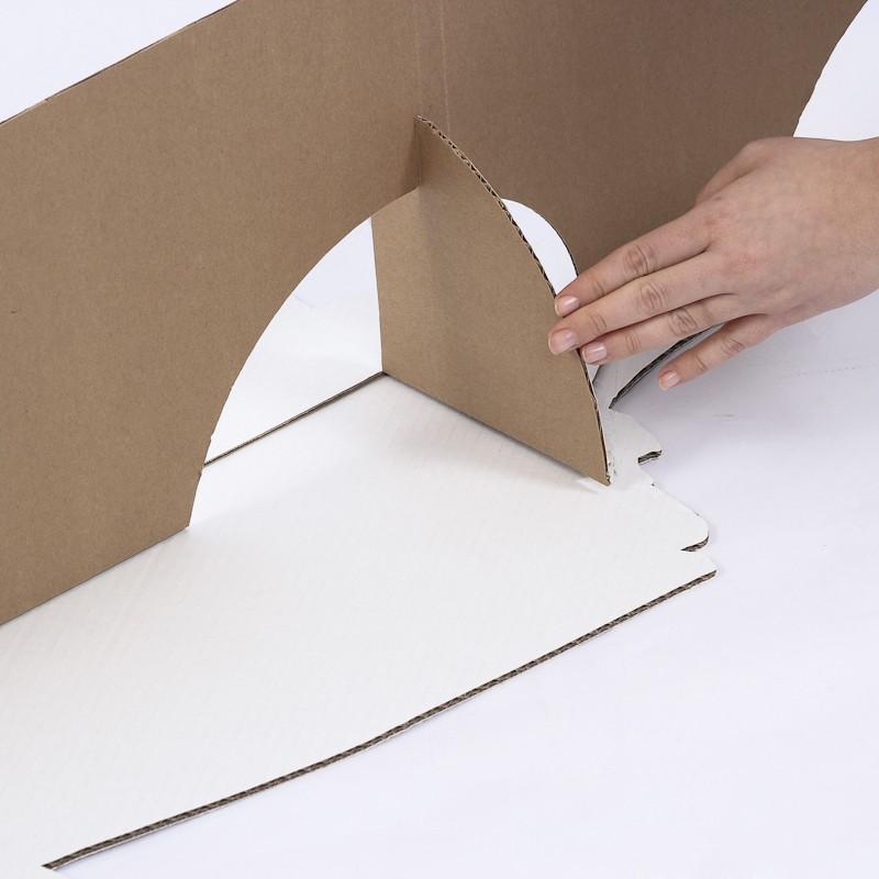 Cardboard Cutout strut