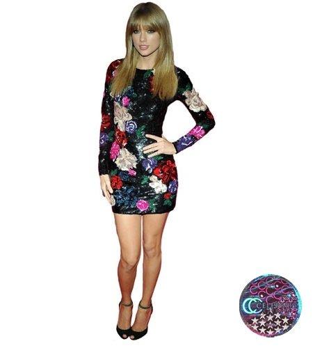Taylor Swift (Patterned Dress) lebensgroßer Pappaufsteller