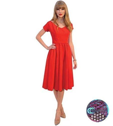Taylor Swift (Red) lebensgroßer Pappaufsteller