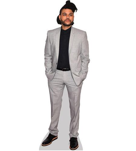 The Weeknd lebensgroßer Pappaufsteller