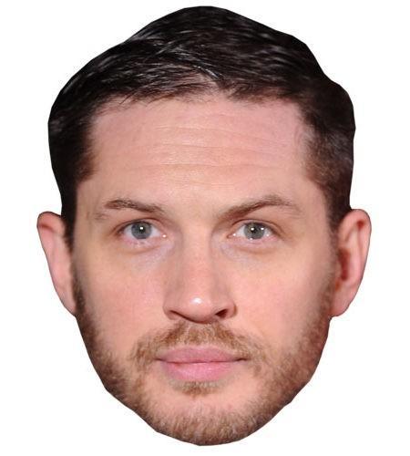 Tom Hardy Celebrity Maske aus Karton