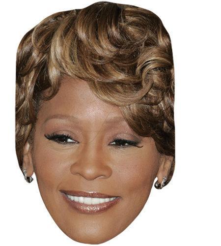Whitney Houston (Modern) Celebrity Maske aus Karton