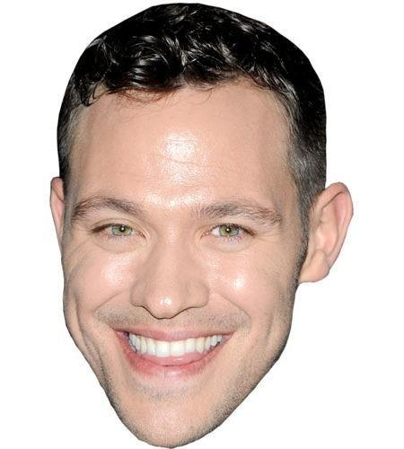 Will Young Celebrity Maske aus Karton