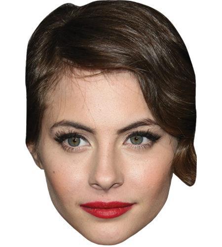 Willa Holland Celebrity Maske aus Karton
