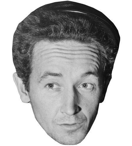 Woody Guthrie Celebrity Maske aus Karton