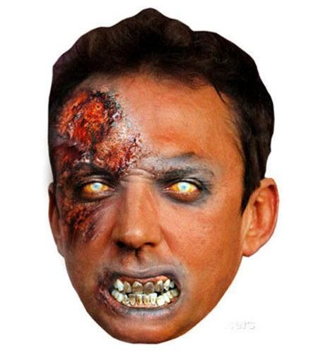 Zombie Bruno Tonioli Maske aus Karton