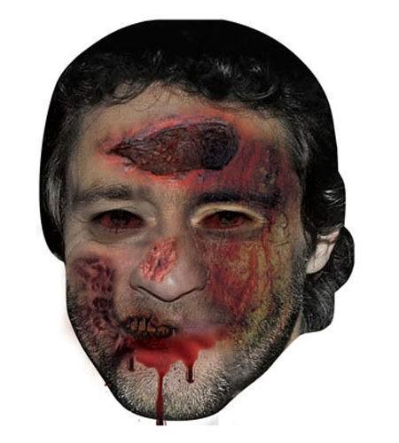 Zombie Howard Donald Maske aus Karton