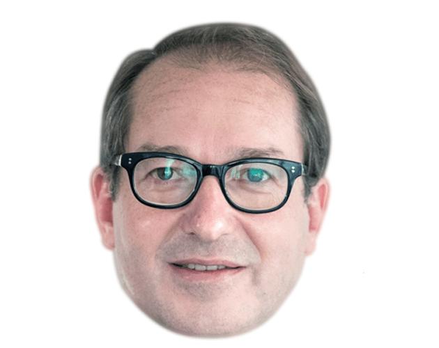 Alexander Dobrindt Celebrity Maske aus Karton