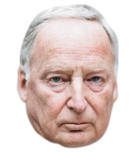 Alexander Gauland Celebrity Maske aus Karton