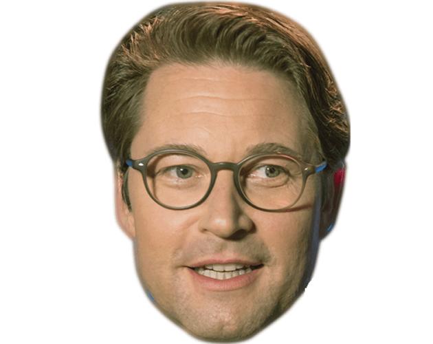 Andreas Scheuer Celebrity Maske aus Karton