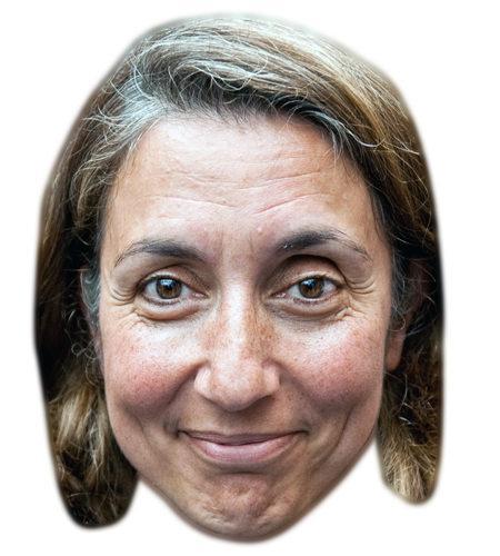 Aydan Özoguz Celebrity Maske aus Karton