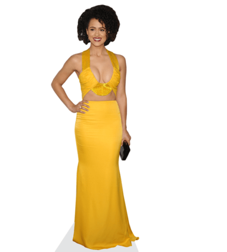 Nathalie Emmanuel (Yellow Dress)
