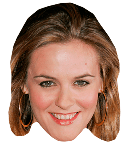 Alicia Silverstone Celebrity Mask