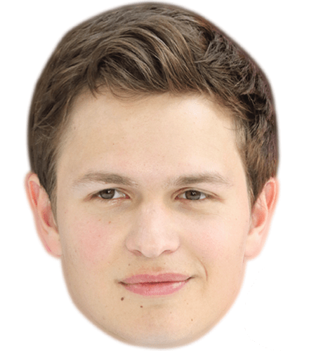 Ansel Elgort Celebrity Mask