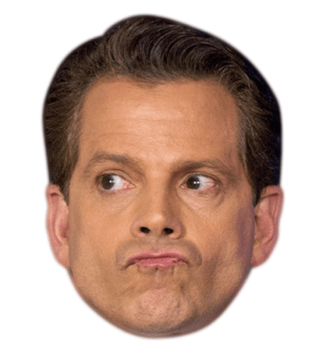 Anthony Scaramucci Celebrity Mask