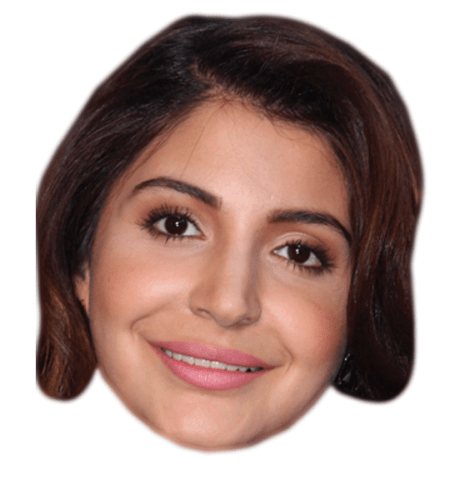 Anushka Sharma Celebrity Mask