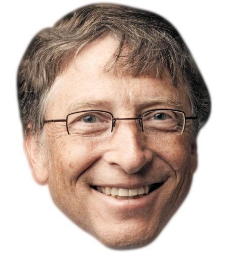 Bill Gates Celebrity Mask