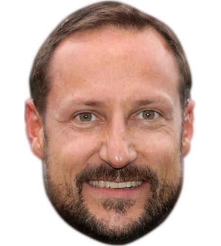 Crown Prince Haakon of Norway Celebrity Mask