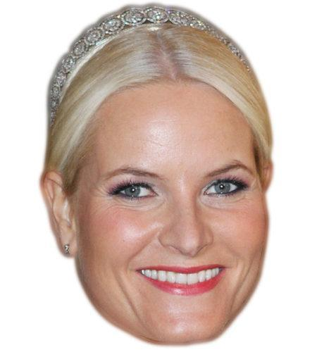 Crown Princess Mette Marit of Norway Celebrity Mask