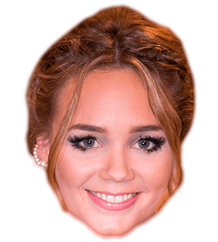 Daisy Wood-Davis Celebrity Mask