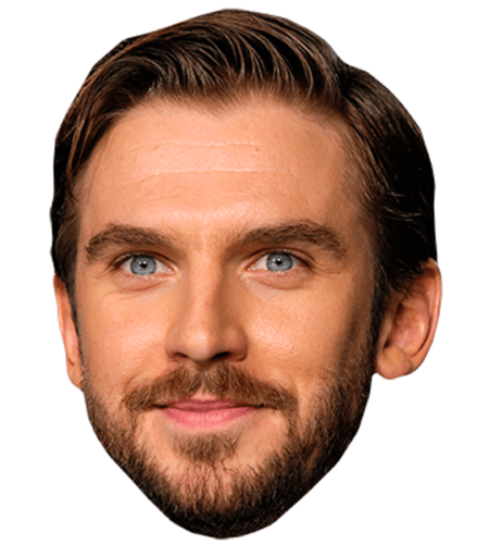 Dan Stevens (Smiling) Celebrity Mask
