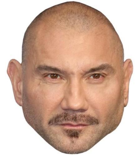 Dave Bautista Celebrity Mask