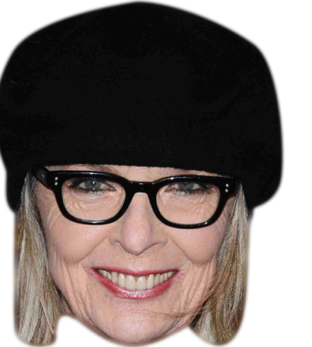 Diane Keaton Celebrity Mask