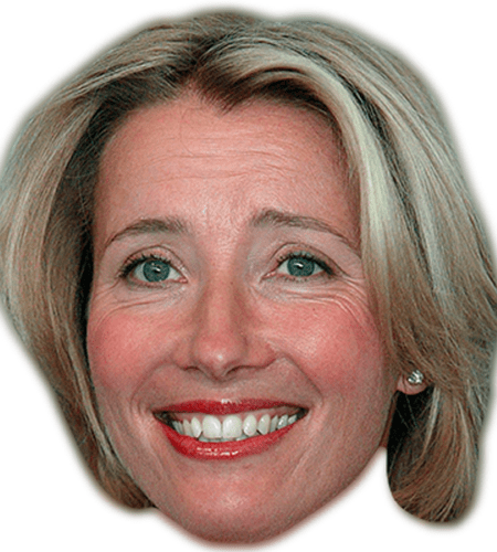 Emma Thompson Celebrity Mask