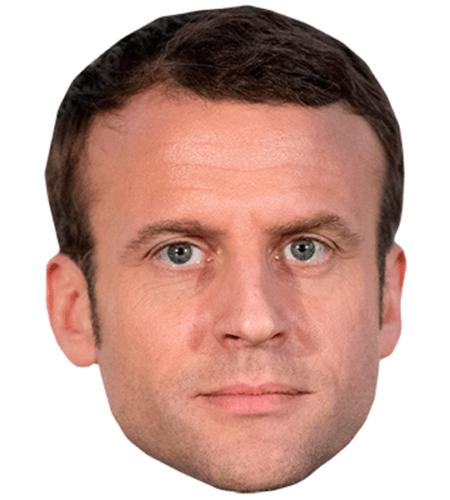 Emmanuel Macron Celebrity Mask