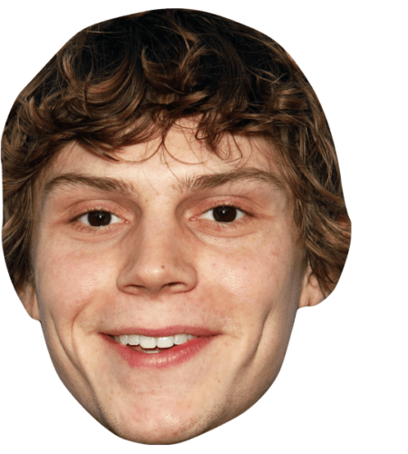 Evan Peters Celebrity Mask