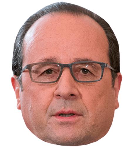 Francois Hollande Celebrity Mask