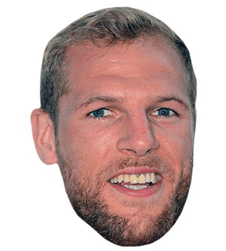 James Haskell Celebrity Mask